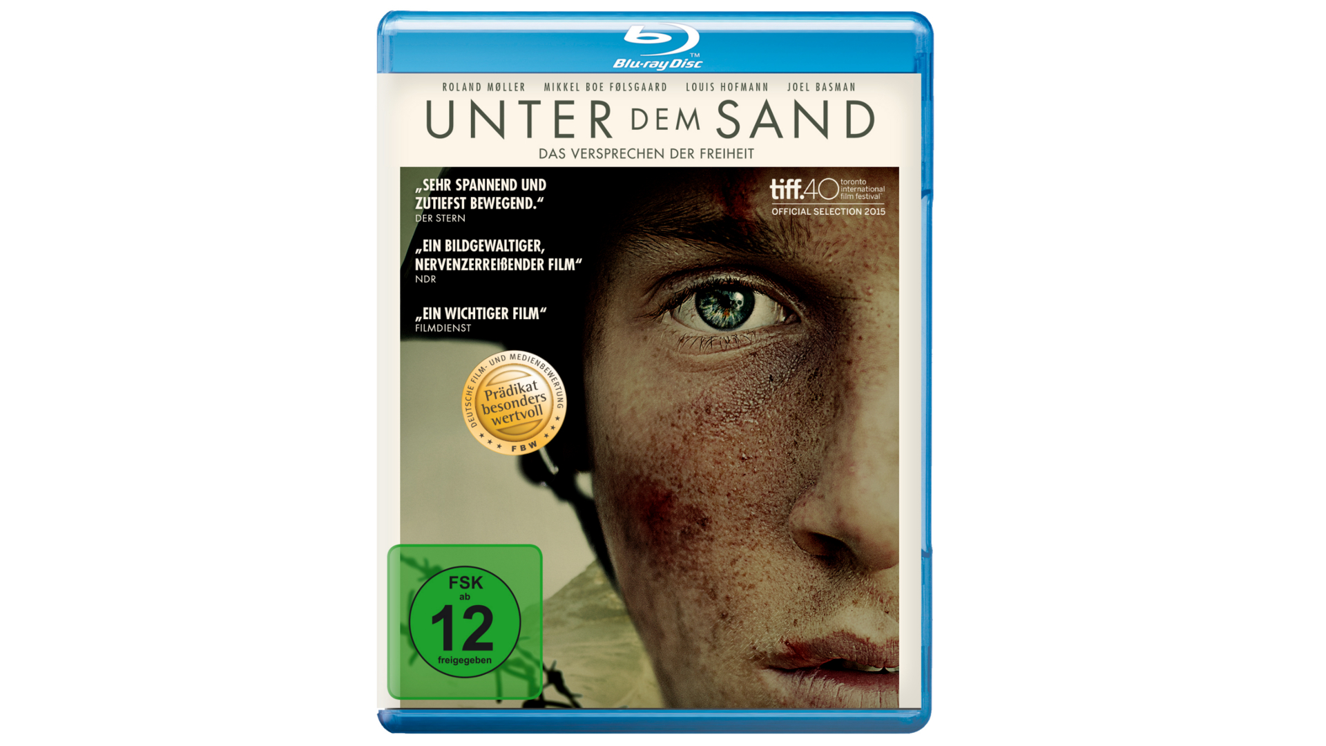 Blu-ray Film Review: Unter dem Sand